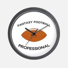 Fantasy Football Professional Wall Clock