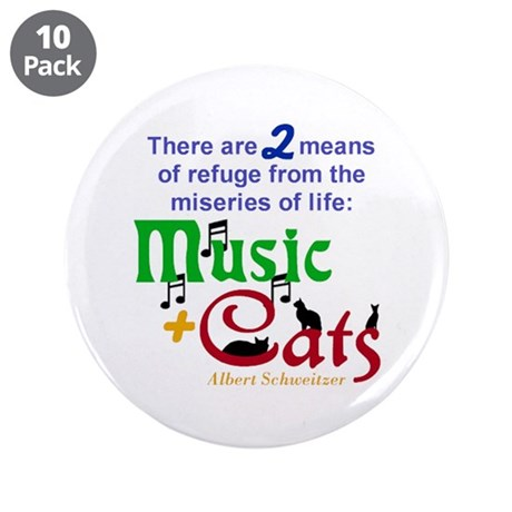 "Miseries of Life ... 3.5"" Button (10 pack)"