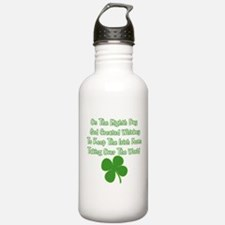 Irish Whiskey Water Bottle