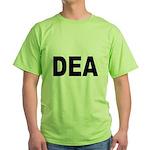 DEA Drug Enforcement Administration Green T-Shirt