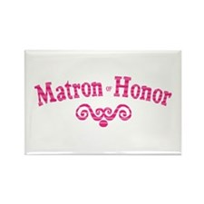 Matron of Honor Rectangle Magnet