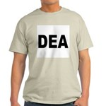 DEA Drug Enforcement Administration Ash Grey T-Shi