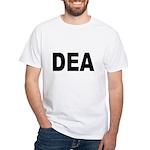 DEA Drug Enforcement Administration White T-Shirt