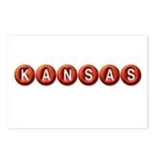 Kansas BB Postcards (Package of 8)