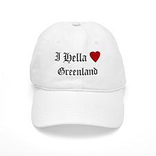 Hella Love Greenland Baseball Cap