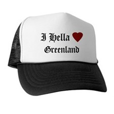 Hella Love Greenland Trucker Hat