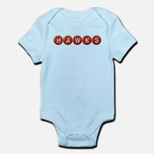 Hawks BB Infant Bodysuit