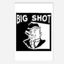 Big Shot Postcards (Package of 8)