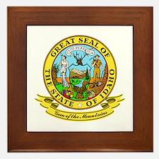 Idaho Seal Framed Tile