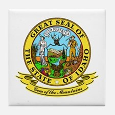 Idaho Seal Tile Coaster