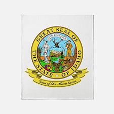 Idaho Seal Throw Blanket