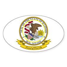 Illinois Seal Decal