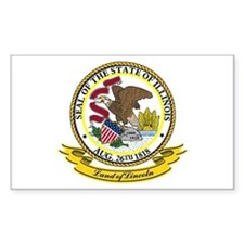 Illinois Seal Decal