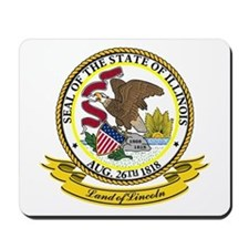 Illinois Seal Mousepad