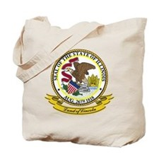 Illinois Seal Tote Bag