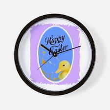 HAPPY EASTER (DUCK LOOK) Wall Clock