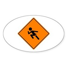 Streaker Sign Stickers