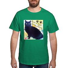 Stray Black Kitty T-Shirt