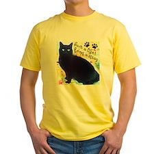 Stray Black Kitty T