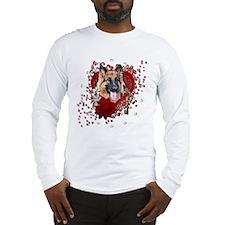 Valentines - Key to My Heart Long Sleeve T-Shirt