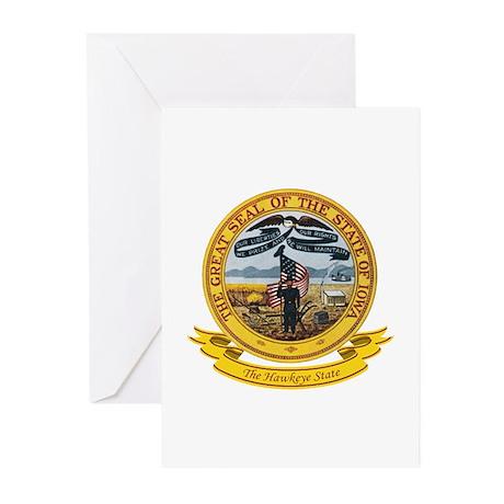 Iowa Seal Greeting Cards (Pk of 10)