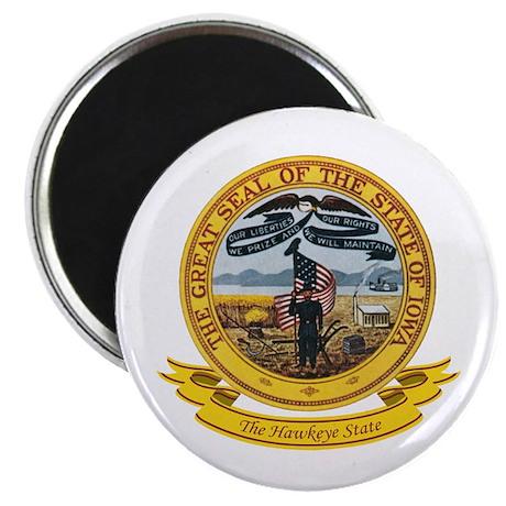 Iowa Seal Magnet