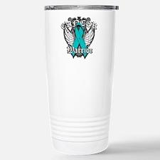 Ovarian Cancer Warrior Travel Mug