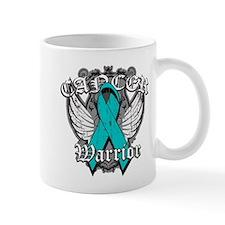 Ovarian Cancer Warrior Small Mugs