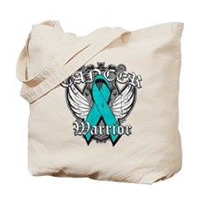 Ovarian Cancer Warrior Tote Bag