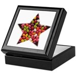CANDY JELLYBEAN STAR Keepsake Box
