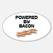 Powered By Bacon Decal