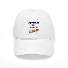 Powered By Bacon Baseball Cap