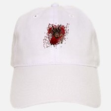 Valentines - Key to My Heart Baseball Baseball Cap