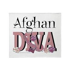 Afghan DIVA Throw Blanket