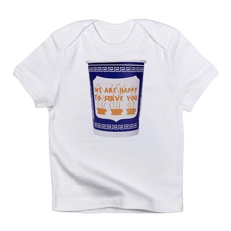 Greek Coffee Cup Infant T-Shirt