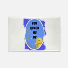 YOU QUACK ME UP (BABY DUCK) Rectangle Magnet