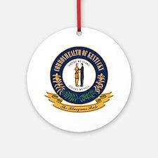 Kentucky Seal Ornament (Round)
