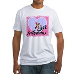 LOVE JELLYBEANS Fitted T-Shirt