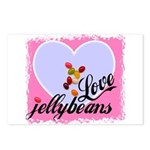 LOVE JELLYBEANS Postcards (Package of 8)