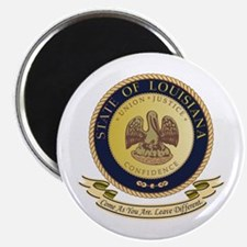 Louisiana Seal Magnet