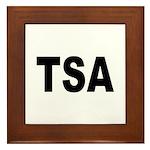 TSA Transportation Security Administration Framed