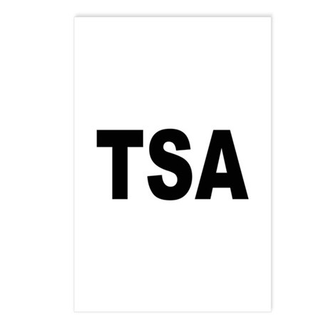 TSA Transportation Security Administration Postcar