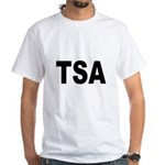 TSA Transportation Security Administration White T