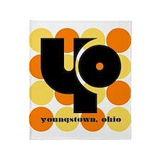 YO -Orange/Yellow Balls Throw Blanket