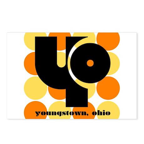 YO! Yellow/Orange Postcards (Package of 8)