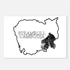 Steamroll Cambodia Postcards (Package of 8)