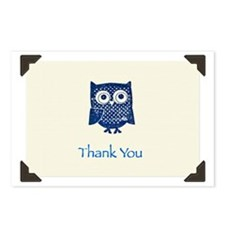 """Thank You Owl"" Postcards (Package of 8)"