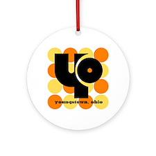 YO Orange/Yellow Balls Ornament (Round)