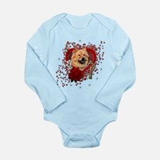 Valentines - Key to My Heart Long Sleeve Infant Bo