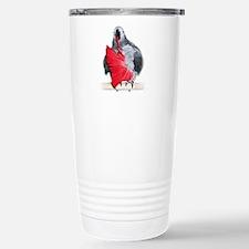 african grey Travel Mug